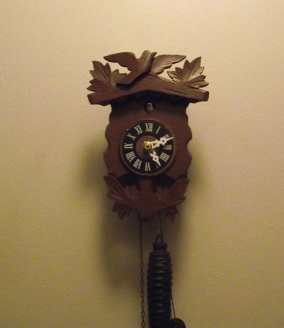 Mini Vintage Cuckoo Clock