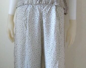 Vintage Satin 1940s Mary Jane Pajamas