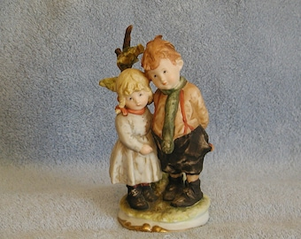 Boy and Girl Figurine by Andrea of Sadek