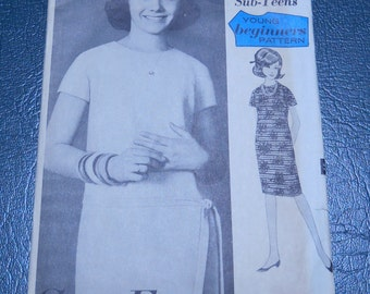 Advance 3282 - Commercial - Teen Dresses - Mad Men Pattern - Sewing Supply - 1940s Sewing Pattern - Patterns Tutorials