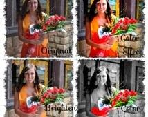 Photo editing service for digital images