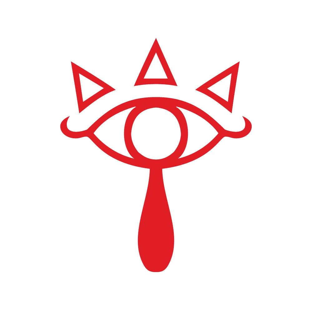 Sheikah Eye Symbol Httpwwwetsycomlisting114002804legend Of Pictures