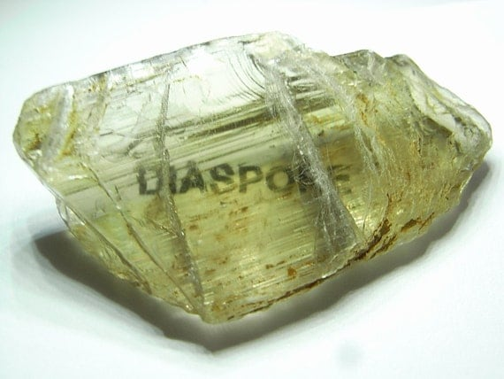 Color change Diaspore (Zultanite)  facet rough -  56.4 carats of diaspore with great clarity