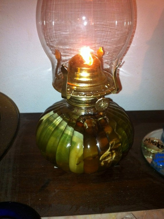 Magickal Hurricane Oil Lamp Made To Order Voodoo Hoodoo