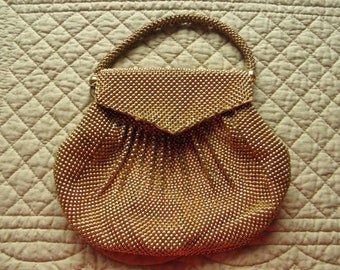 Whiting and Davis Bead a Lite Purse 1950s