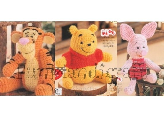 disney winnie the pooh und freunde amigurumi von funhandicraft. Black Bedroom Furniture Sets. Home Design Ideas