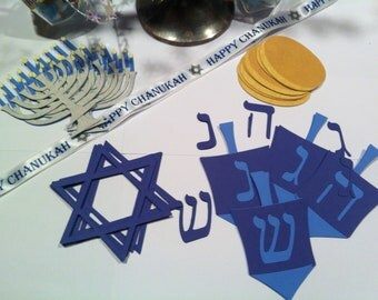Chanukah - Hanukkah Holiday Embellishments (Set of 29)