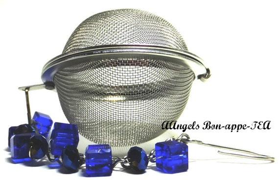 Tea Infuser Ball Midnite Blue