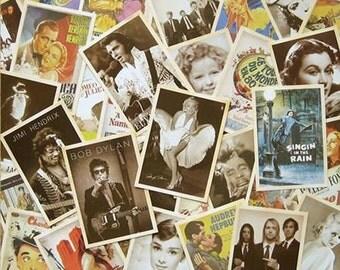 Vintage Super Star Postcard - 32 Cards