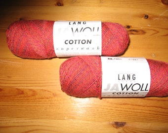 Lang Jawoll Cotton Yarn