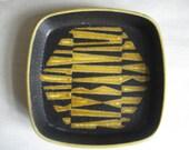 RESERVED - Royal Copenhagen fajance - tray - stripes - 730/2883 - Nils Thorsson - 70s