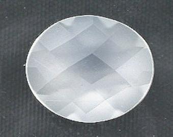 oval checkerboard 12x10 moonstone cabochon gemstone gem