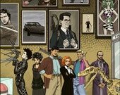 The League of Extraordinary Gentlepersons 1996 - Limited 11x17 Print