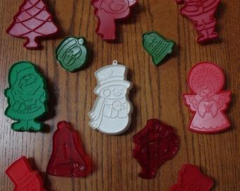Vintage Christmas Cookie Cutters