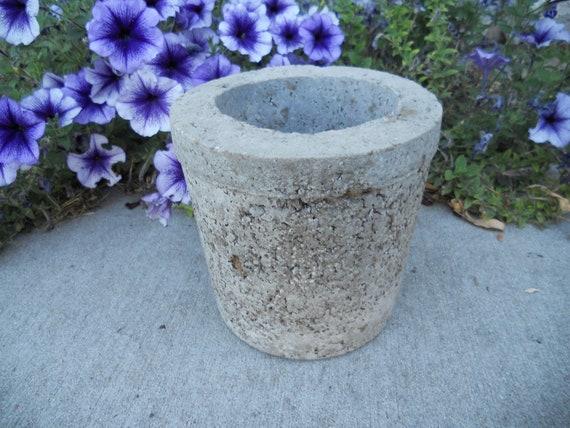 Hypertufa planter -- medium size