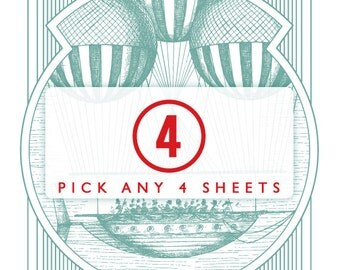 Pick Any 4 Sheets / SP4