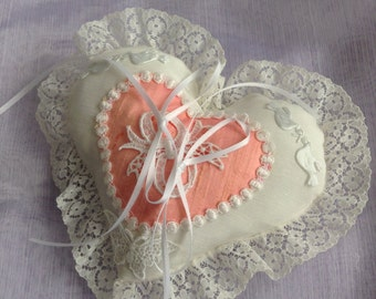Beautiful ring pillow