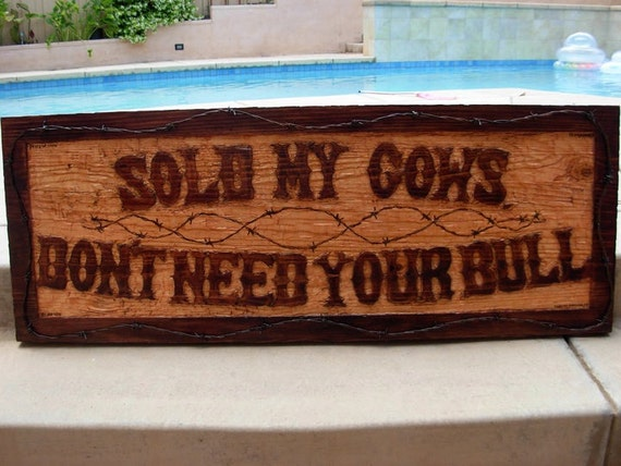 Business Sign Home Decor Custom Hand Made Wooden Carved Burned Or Any
