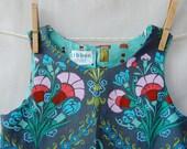 aqua trellis jumper, sizes 3-9