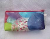 """pencil case in oilcloth """"balloon"""""""