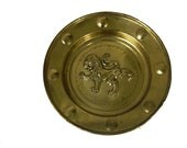 Vintage English Deerage Brass Wall Plate