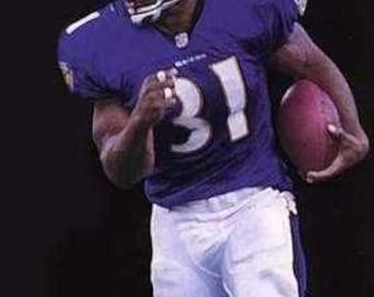 Jamal Lewis Baltimore Ravens Lithograph