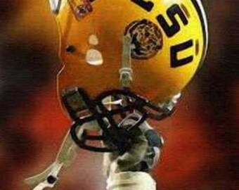 Great LSU Tigers Limited Football Art Print, only 50 ex