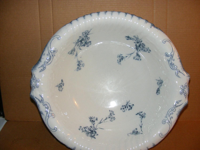 Large Antique W H Grindley Amp Co Porcelain 17 Bowl Basin