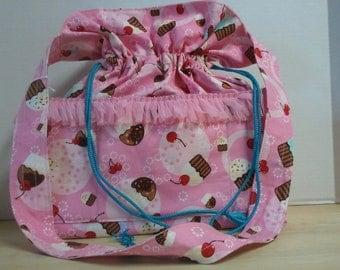 Cherry Cupcake Tote Bag