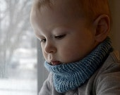 Listing for Pauline Jennings******Knitted Toddler Cowl (Neck Warmer) 12months - 3t & 3t-5t