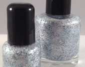 Holy Crap It's Snowing Mini - Holiday 2012 - Custom Made Nail Polish
