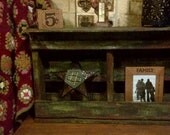 Old Pallet shelf, hand painted, distressed look, Shabby Chic