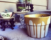 Dripping In Gold Large Planter