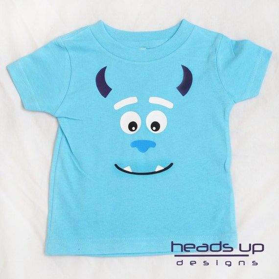 Sulley tshirt - Monsters Inc t shirt Toddler - Toddler Sulley t-shirt - Monster Shirt Boy - Kids Monster Inc Shirt - Tee Shirt - Costume -