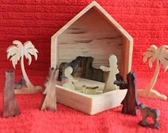 Miniature Nativity Set