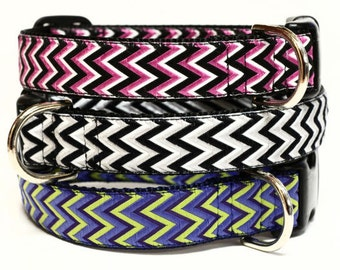 Zigzag Dog Collar