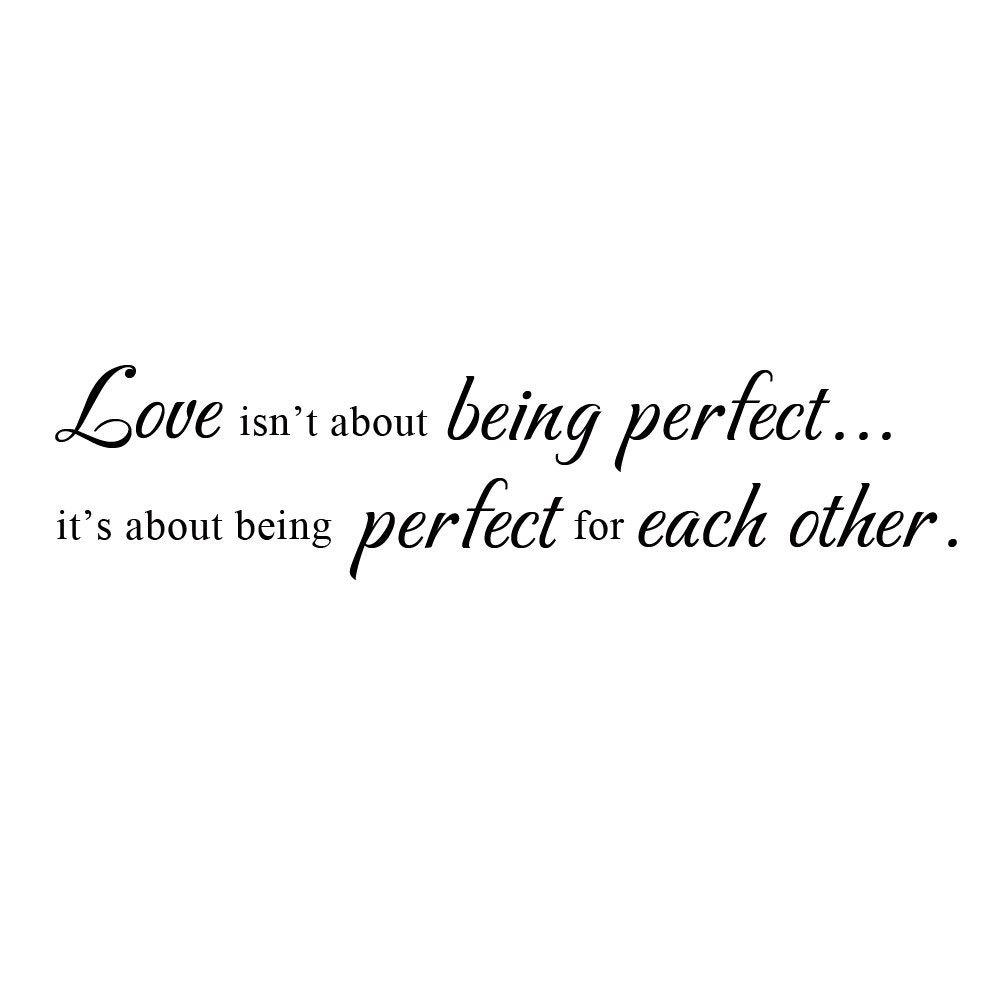 The image of being perfect