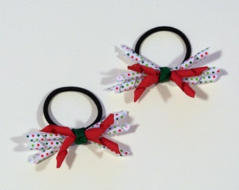Christmas Fun Korker Pony Bows
