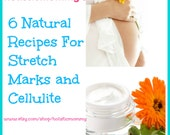 6 DIY Natural Recipes For Stretch Marks and Cellulite