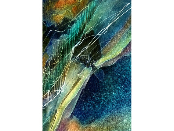 Everything Is Connected Signed Fine Art Print 9x12 Brilliant