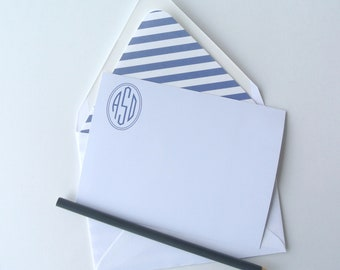 Personalized and Printable A2 Social Stationery - Personalized Correspondence Cards