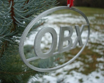 Outer Banks OBX Oval Christmas Ornament