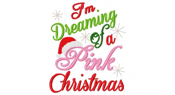 Christmas Embroidery Design I39m Dreaming Of By