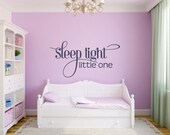 Sleep Tight Little One - Vinyl Wall Art Decal