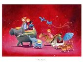 Children's Art - Signed, Limited Edition giclée print. - ' The Parade' (Small)