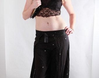 Wrap Around Harem Pants