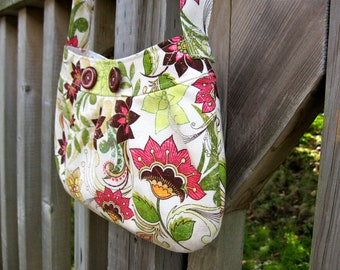 Flowered Buttercup Bag