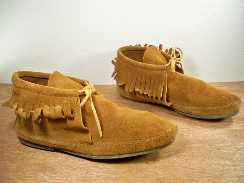Men's Western Hippie Boots SHOES Vintage. Brown leather |Hippie Mens Leather Sandals