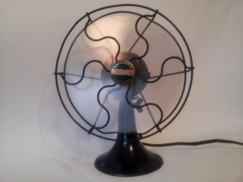 Vintage Table Fan : Vintage dayton table fan