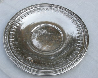 Sandwich Tray - Silver Plate - Reed and Barton - Vintage